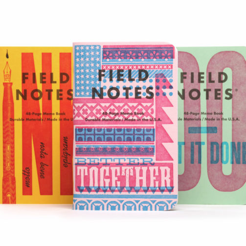 field notes letterpress 2