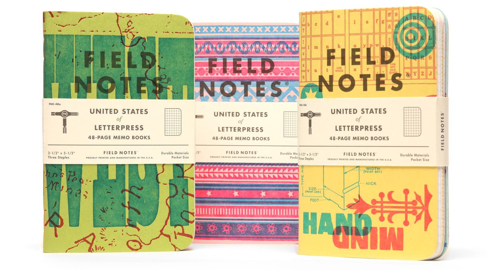 field notes letterpress 5