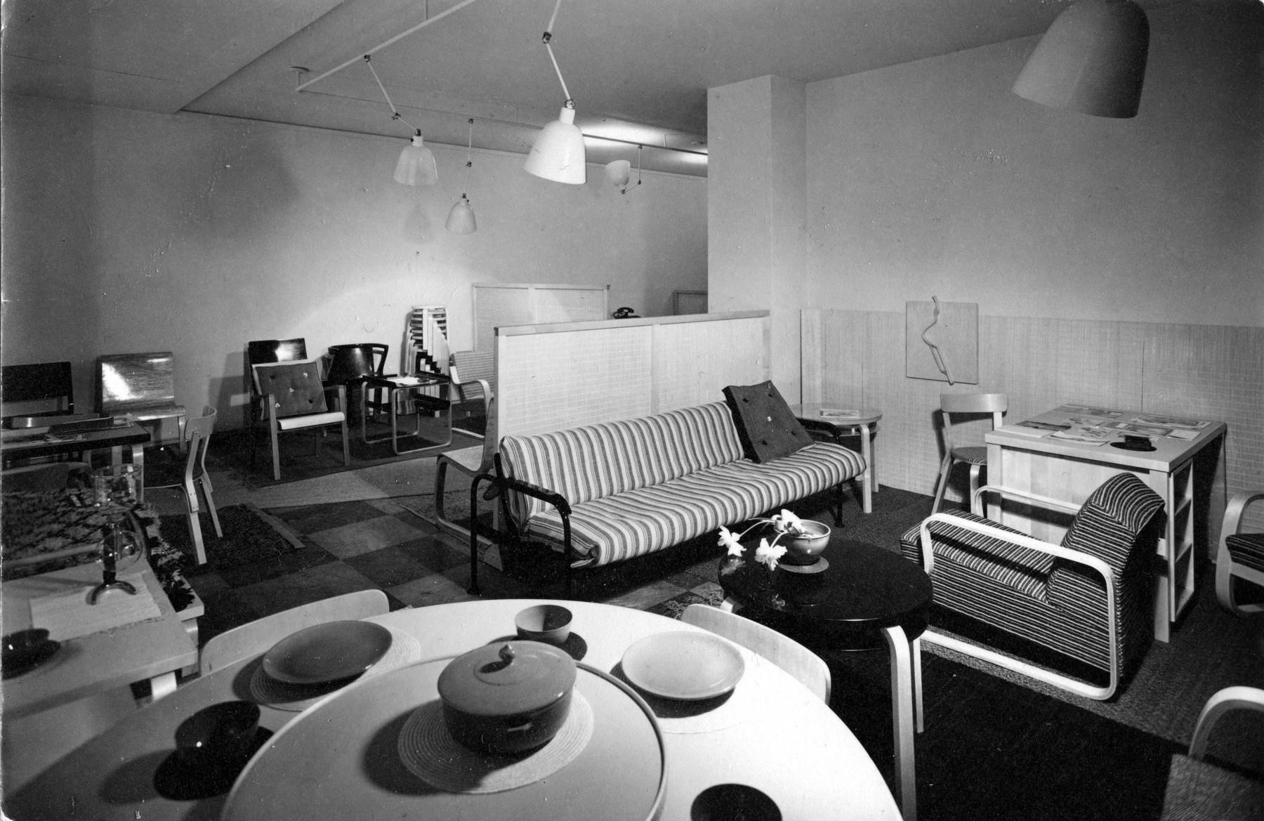 1838125 Fabianinkatu first Artek store in Helsinki 1936 master