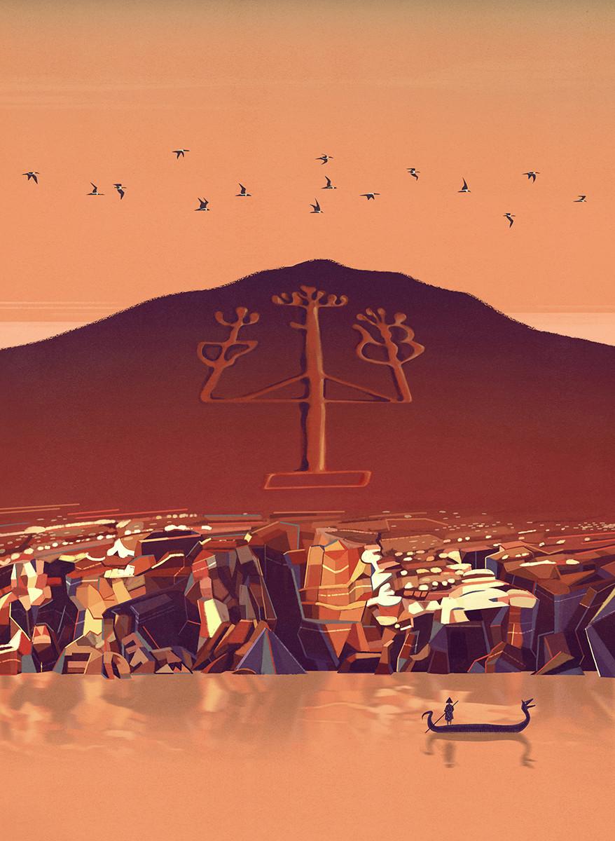 bongiorni polidoro atlante luoghi misteriosi antichita RGB Candelabro de Paraca