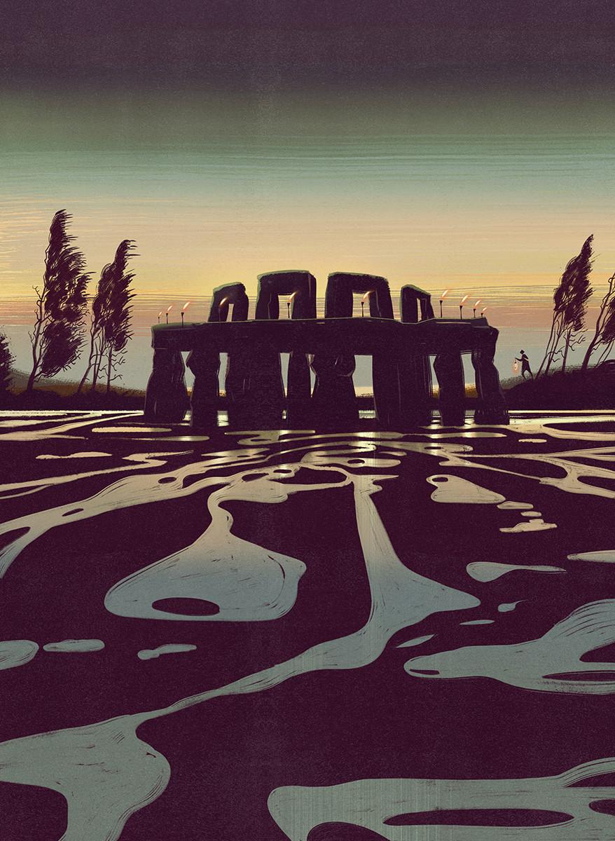 bongiorni polidoro atlante luoghi misteriosi antichita RGB Stonehenge