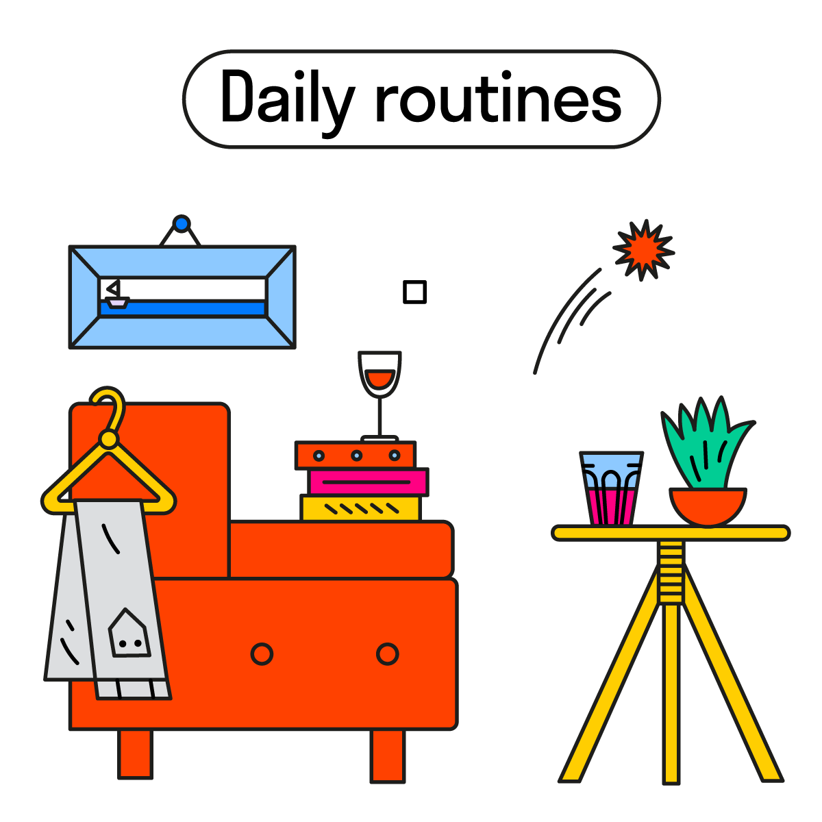 daily routines ig 1