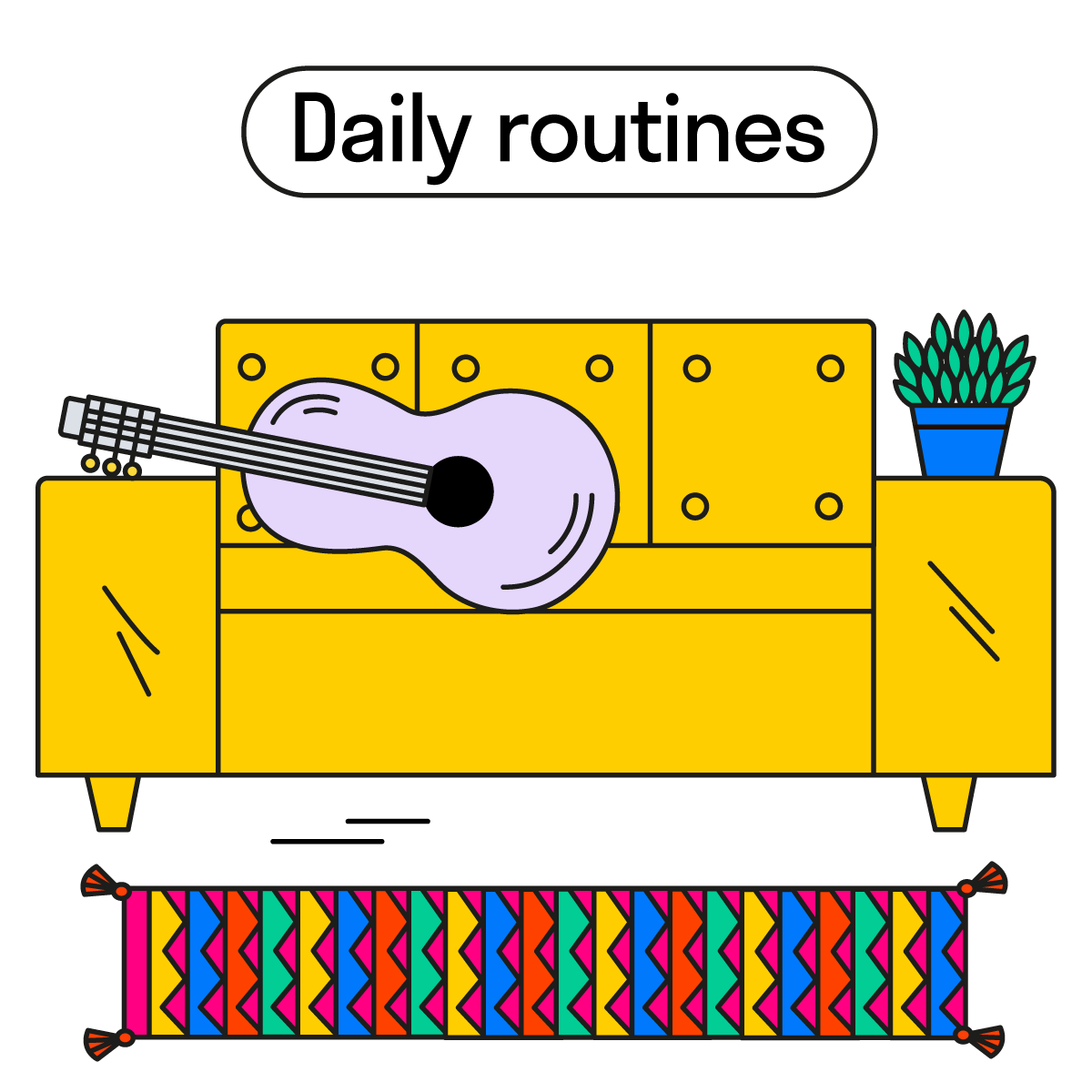daily routines ig 2