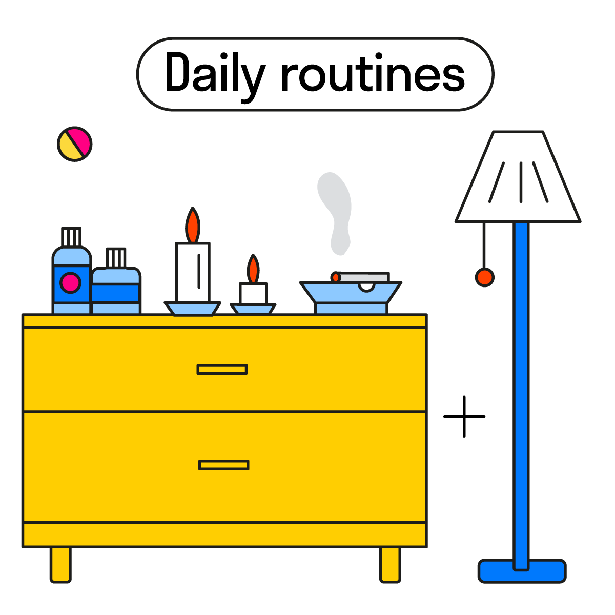 daily routines ig 3