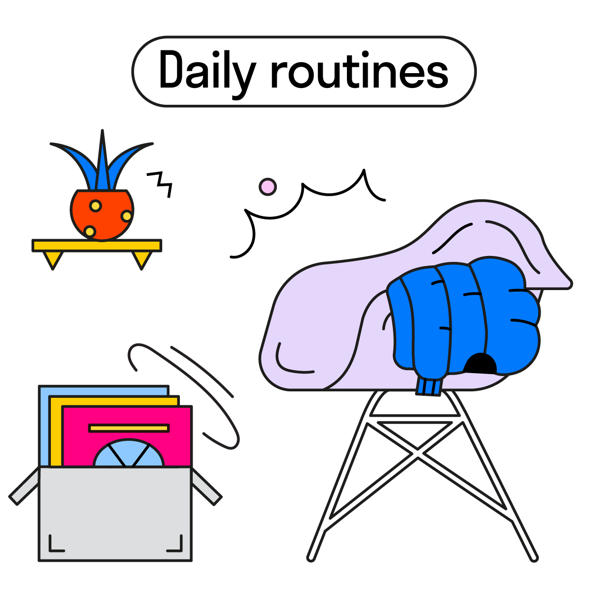daily routines ig 4