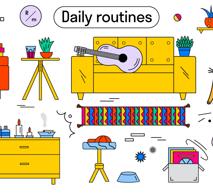 daily routines press release