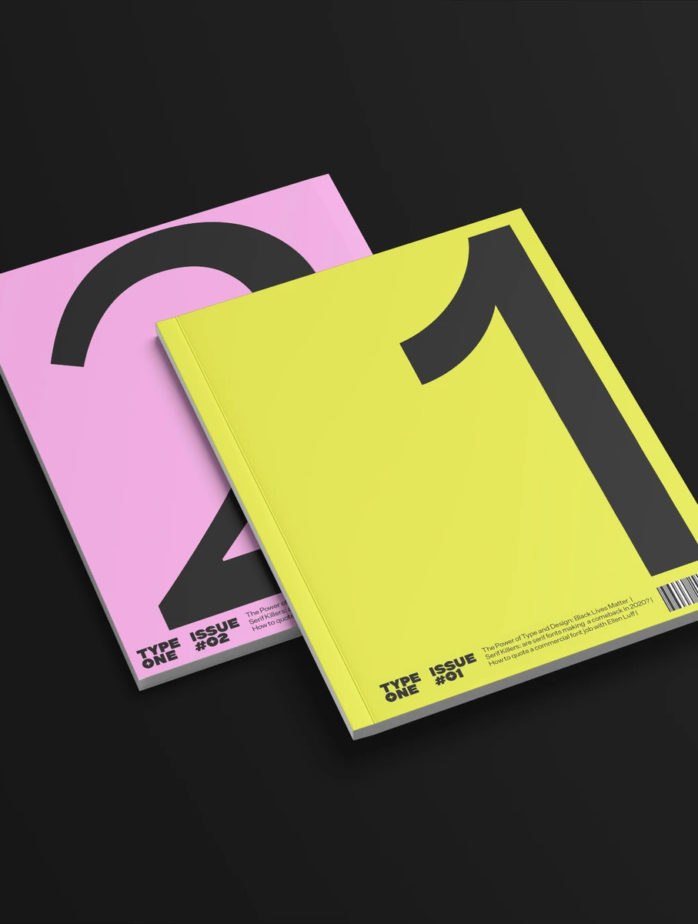 typeone magazine 1