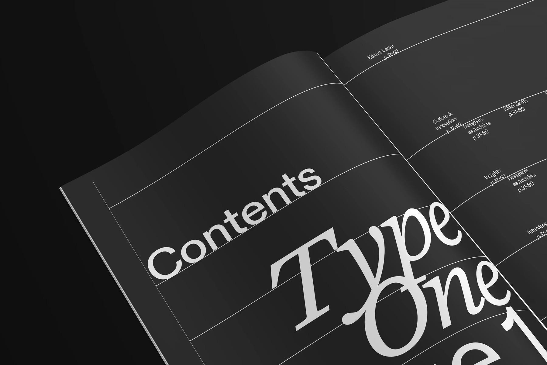 typeone magazine 3