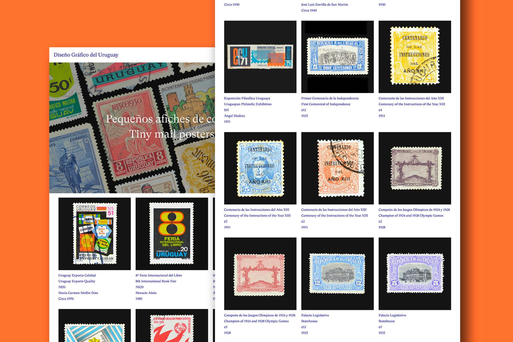 Diseno Grafico del Uruguay stamps