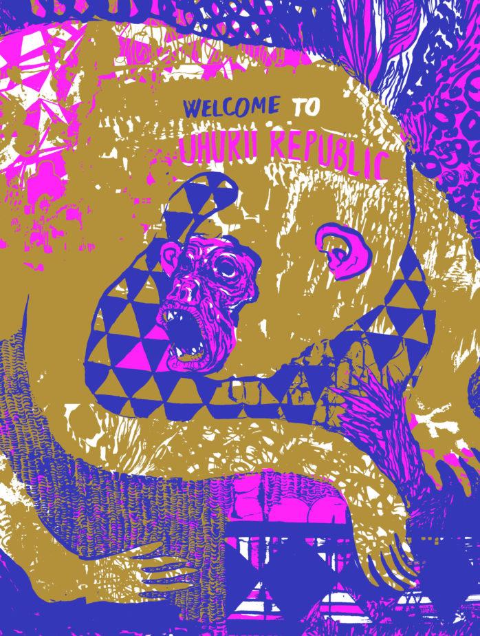 cover disco welcome to uhuru republic hi