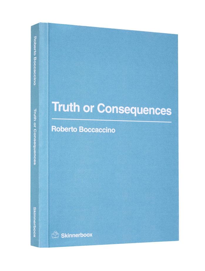 roberto boccaccino Truth or Consequences cover