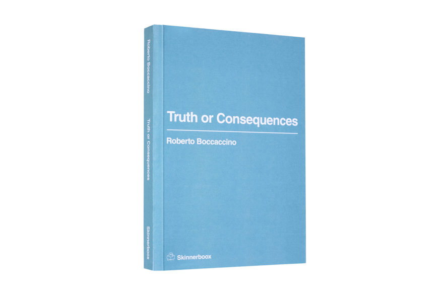 roberto boccaccino Truth or Consequences cover