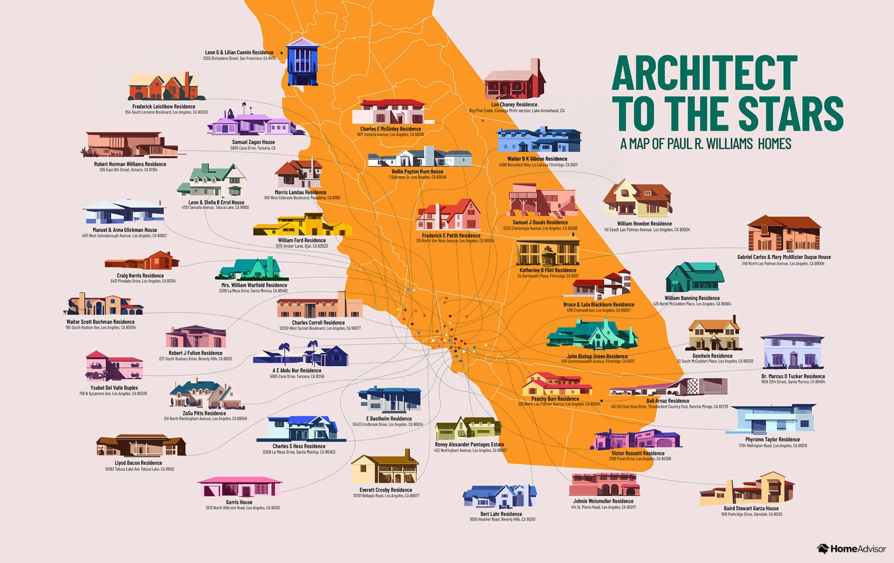 01 Architect Paul R Williams Map