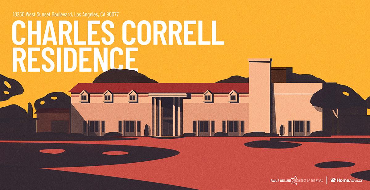 11 Architect Paul R Williams Correll hou