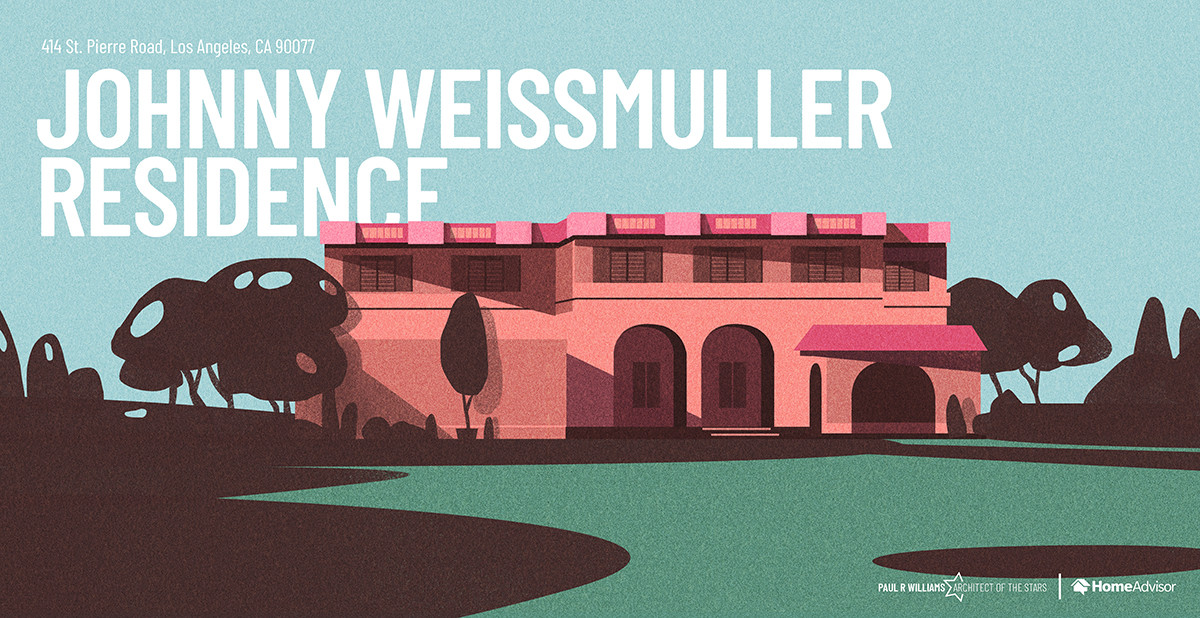 39 Architect Paul R Williams Johnny weismuller