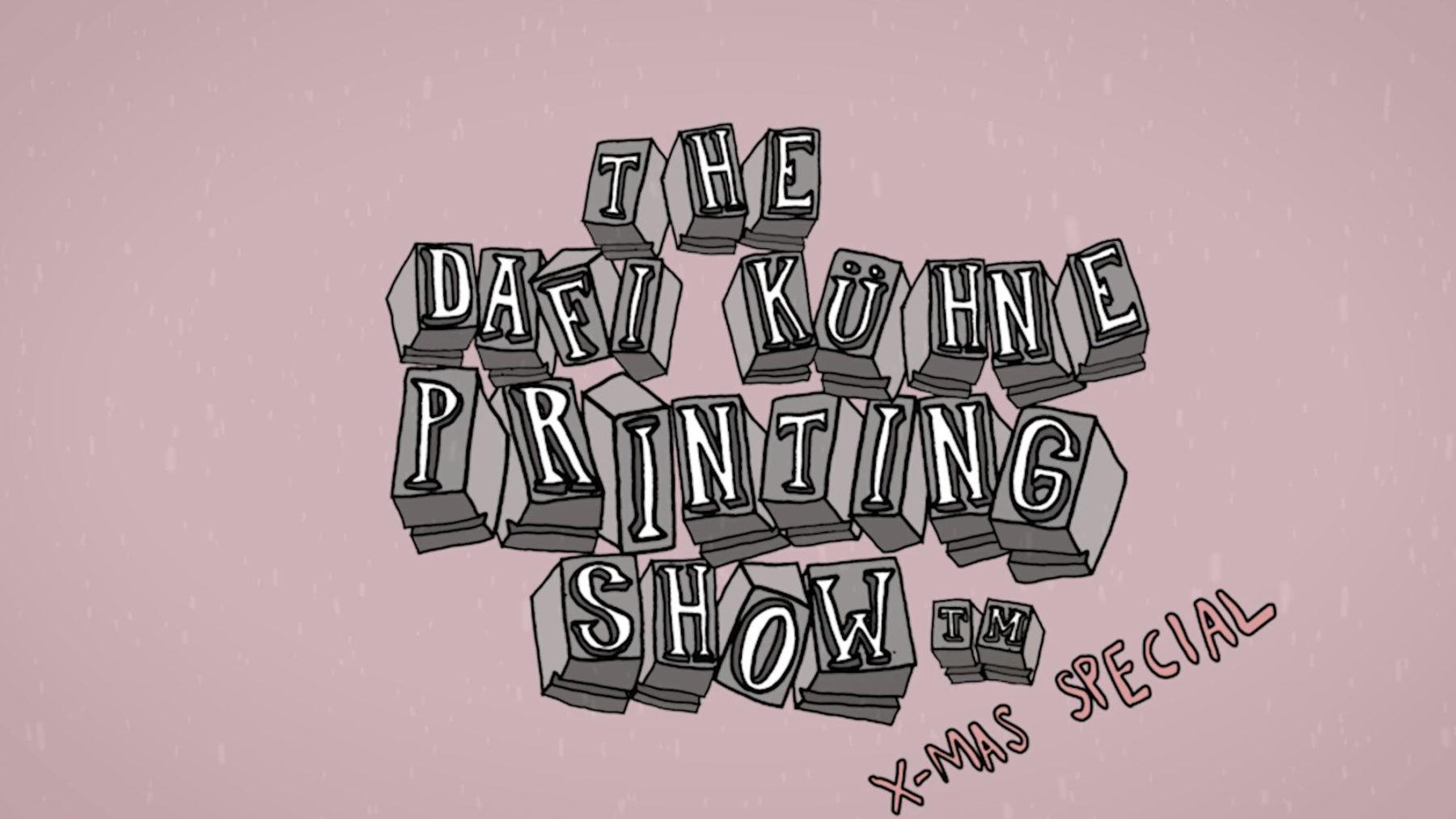 Dafi Kuhne printing show 1