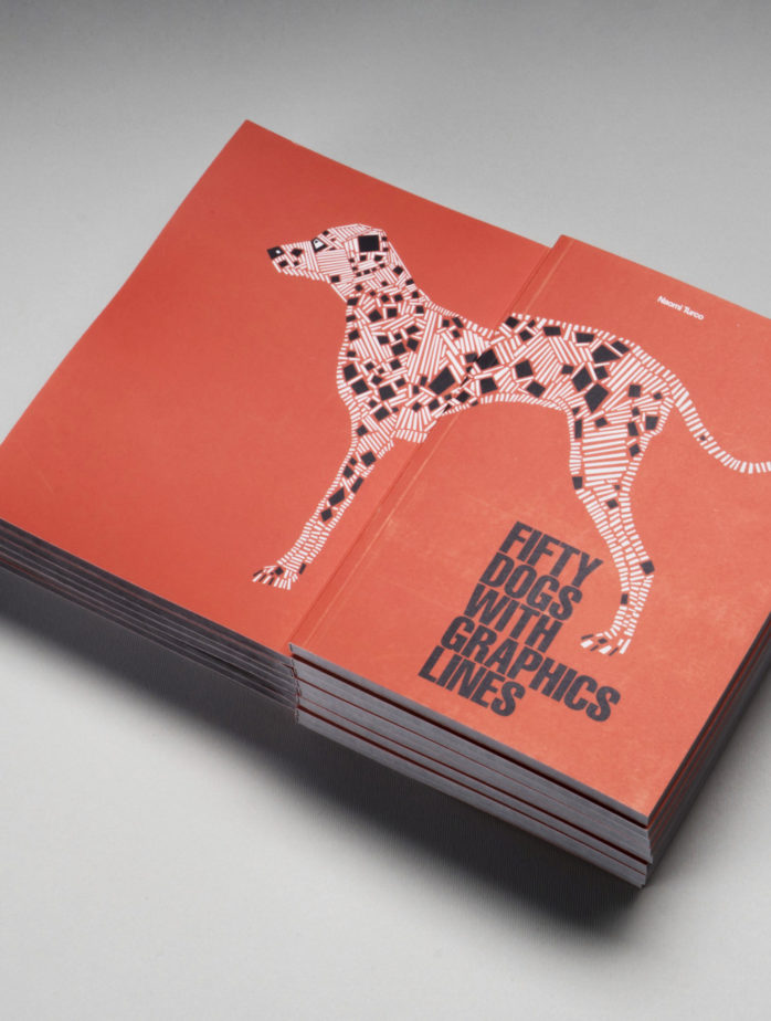naomi turco Fifty dogs with graphic lines 2