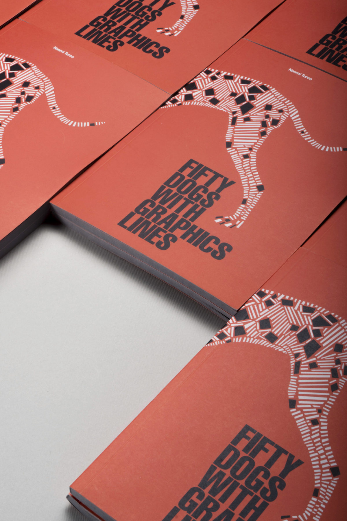 naomi turco Fifty dogs with graphic lines 3