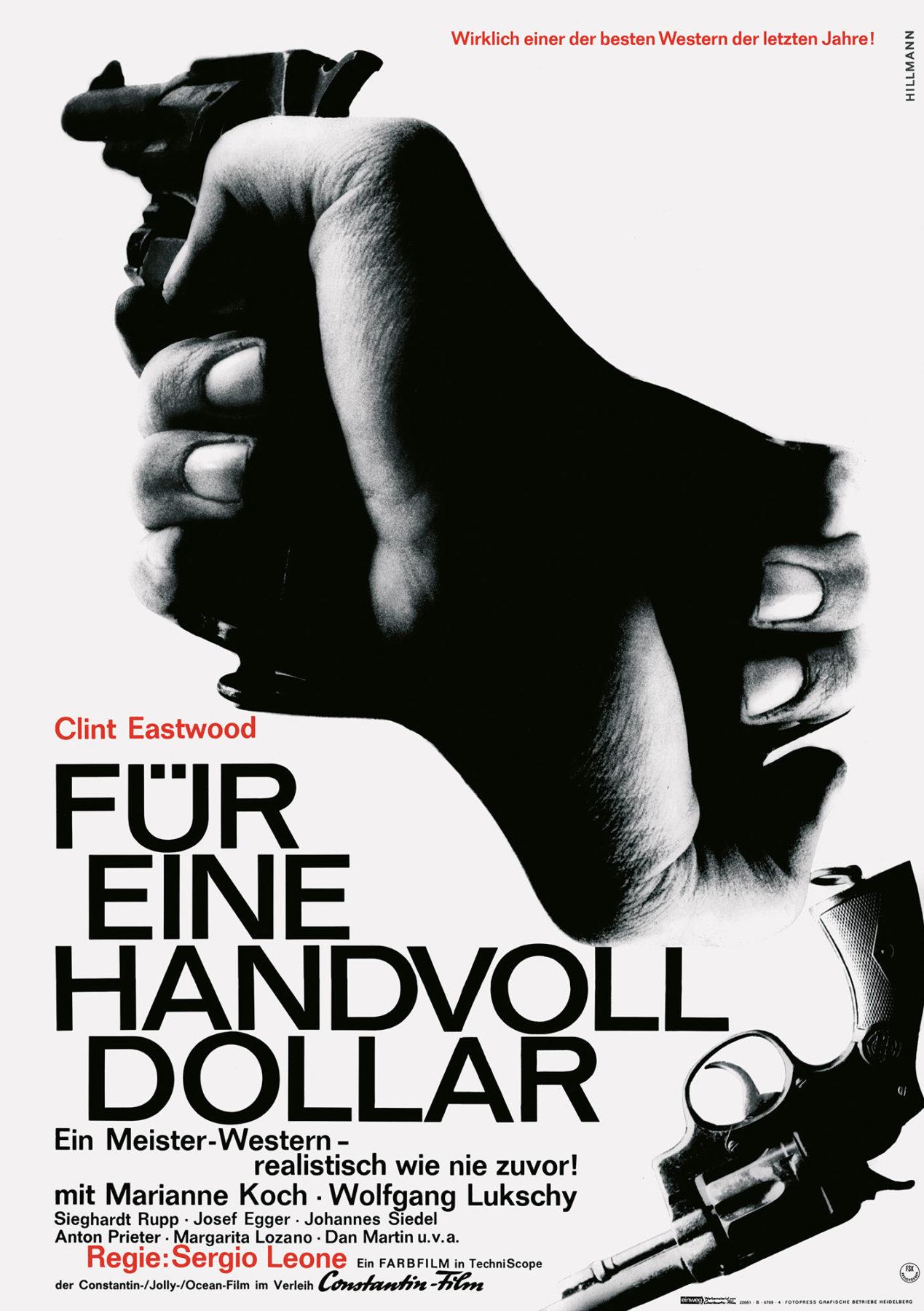 Hillmann 1965 Fuer eine Handvoll Dollar Constantin Film Plakat A1 A