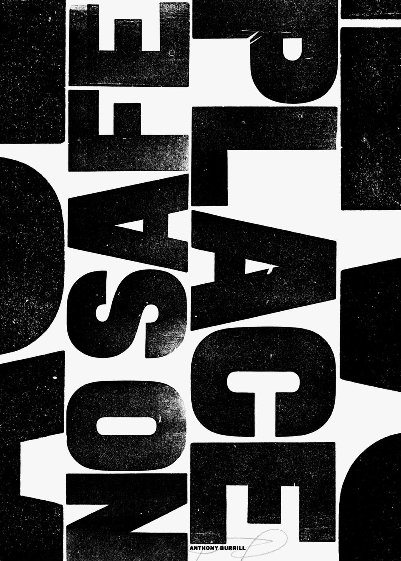 reverting to type NO SAFE PLACE Anthony Burrill